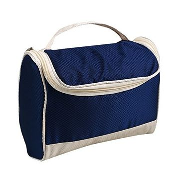 Fdrirect Beauty Bag PU Leather Waterproof Large Capacity Makeup Cosmetic Bag Small