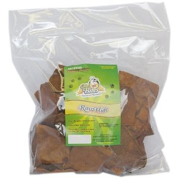 Mr Bites 2-Pound Rawhide Chips for Dogs, Beef Flavor
