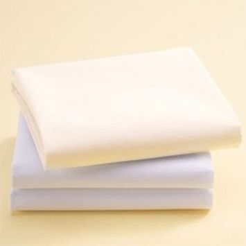 Bassinet Cotton Sheets - Set of 6 - Color: Ecru Size: 13 x 29
