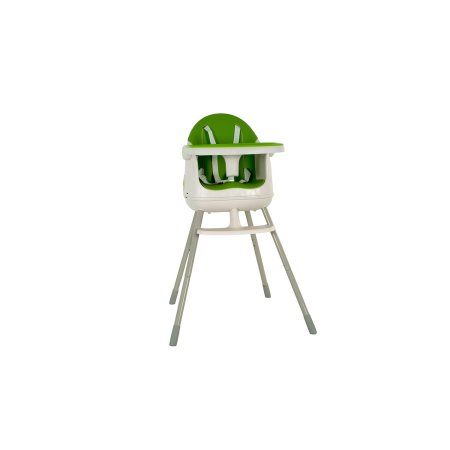 Keter Multi Dine Baby Child Infant Portable Folding High Chair Feeding Booster Seat White & Green
