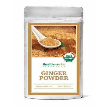 Healthworks Ginger Powder Raw Organic, 8oz