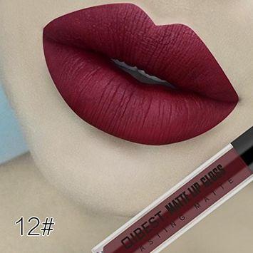 DZT1968 Women 18colors 4.2ml Makeup Sexy Matte Moist Fadeless Velvet Long Lasting Lipgloss Liquid Lipstick