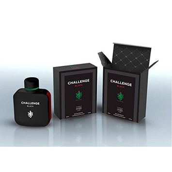 Challenge Black by Mirage Brand Fragrance inspired by L.12.12 NOIR BY LACOSTE FOR MEN