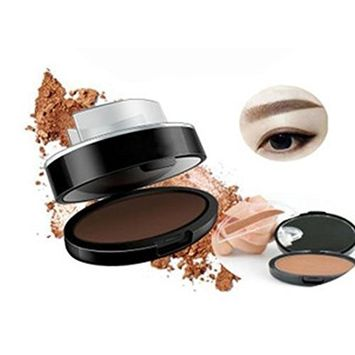 Toyofmine Eyebrow Stamper Makeup Easy Press and Place Nature and Perfect Eyebrow Shape in One Second