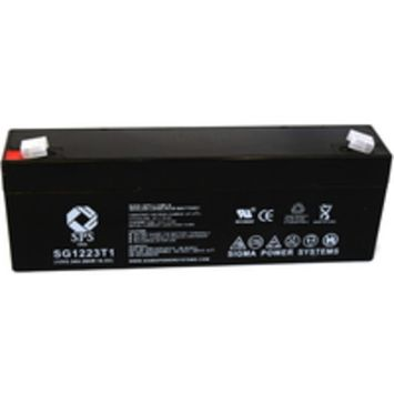 SPS Brand 12V 2.3 Ah Replacement Battery for Medical Research Labs 500AT (1 pack)