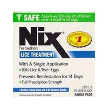 Nix Lice Treatment Cream Rinse 2 oz. (2-Pack)