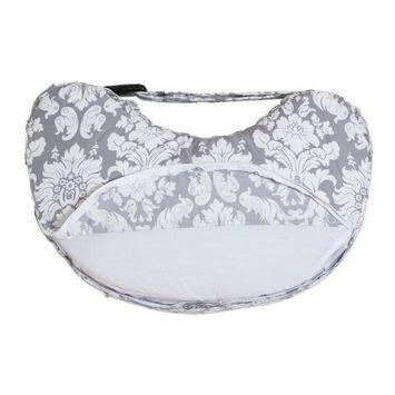 Bebe Au Lait Chateau Silver Nursing Pillow Slip Cover
