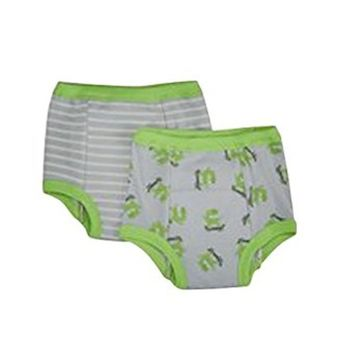 green sprouts by i play. Little Boys' Training Pants 2 Pack Monster (Toddler) - Gray