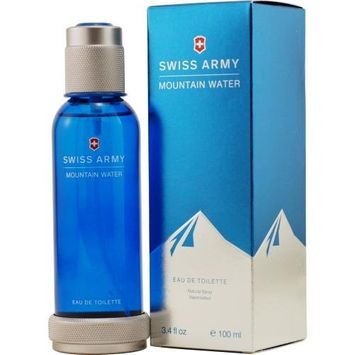 Swiss Army 3.4-Ounce Mountain Water Edt Spray for Men