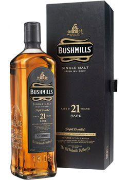 Bushmills 21 Year Old Single Malt Irish Whiskey
