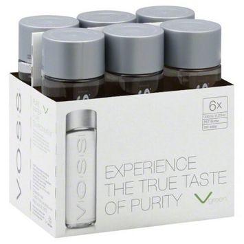 VOSS Artesian Water (Still), 11.2 oz Bottles (6 Pack)