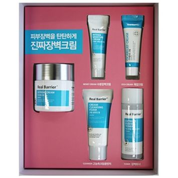 Atopalm Real Barrier Extreme Cream SPECIAL SET (Mask Pack + Toner + Cica relief Cream + Foam)