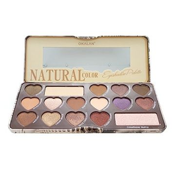 OKALAN Natural Color Eyeshadow Palette B