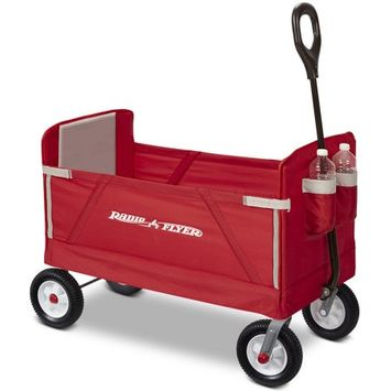 Radio Flyer Inc. Radio Flyer 3-In-1 All-Terrain EZ Fold Wagon