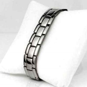Electrified.com HEALING PAIN REDUCE STRESS IMPROVE SLEEP MAGNET Germanium Ion Bracelet EJCN-004A