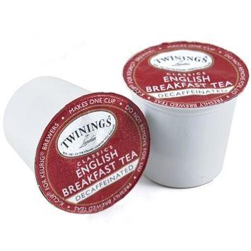 Twinings of London English Breakfast Tea K-Cups for Keurig, 24 Count (Pack of 2)
