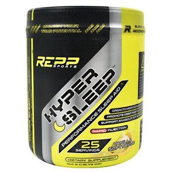 REPP Sports 9450018 Hyper Sleep Dietary Supplement Vanilla - 25 Per Serving