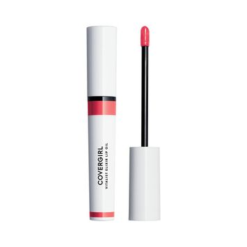 COVERGIRL Vitalist Elixir Tinted Lip Oil, Cherry Crush, 0.12 fl oz