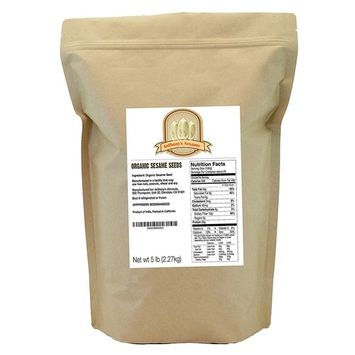 Anthony's Organic Hulled Sesame Seeds (White)