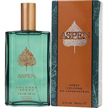 ASPEN by Coty COLOGNE SPRAY 4 OZ [Package Of 4]
