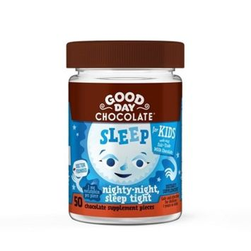 Kid's Good Day Chocolate Sleep Dietary Supplement Chewables - 50ct