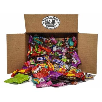 Bulk 5lb Individually Wrapped Assorted Candy and Chocolate Boxes for Easter, Piñata, Party, Parade, Christmas, Birthday, and Halloween