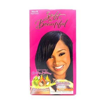 Soft & Beautiful No-lye Ultimate Conditioning Relaxer System SUPER by Soft & Beautiful