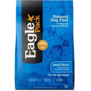 Eagle Pack Natural Small Breed Chicken and Pork Meal Formula Dry Dog Food [Options : 15-lb (Out Of Stock)]