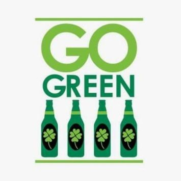 Go Green Irish Beverage Napkins 18 Per Pack