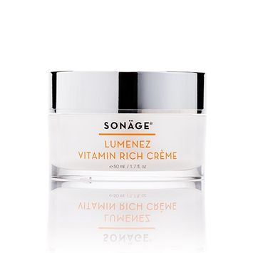Sonage Lumenez Vitamin Rich Creme Hydrating daily Moisturizer for Dehydration & Dryness- Normal to Dry Skin -Orange Blossom and Orchid Extract – for instant glow- Gluten Free