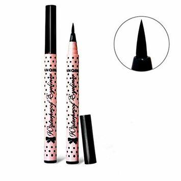 2 Pcs Liquid Eye Liner Black Make Up Eyeliner Waterproof Cosmetic Pencil Pen