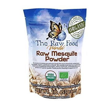 Organic Raw Mesquite Powder, 16-Ounce Bag