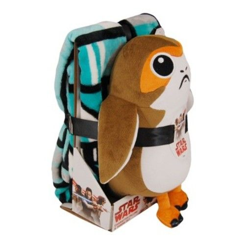 Star Wars Porg Throw Blanket & Pillow Buddy