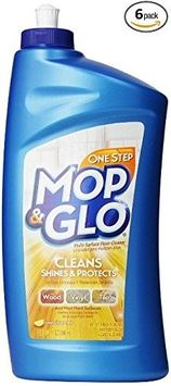 Mop & Glo Multi Surface Floor Cleaner 32 Ounce (Pack of 6)