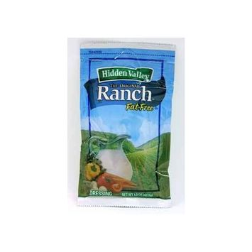 Hidden Valley Fat Free Ranch Portion Pack Dressing -- 84 Case 1.5 Ounce