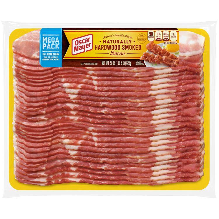 Oscar Mayer Naturally Hardwood Smoked Bacon