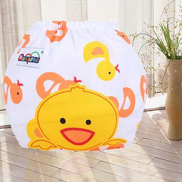 Girl12Queen Newborn Baby Summer Cloth Diaper Cover Adjustable Reusable Washable Nappy Pants