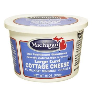 Michigan Brand Cottage Cheese Large Curd
