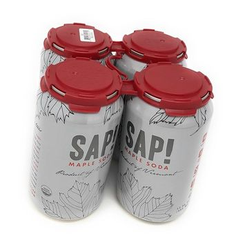 Sap! Maple Carbonated Water (Maple Soda Water, Case of 4)