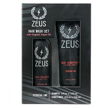 ZEUS Hair Shampoo and Conditioner Set