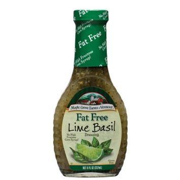 Maple Grove Farms Dressing Lime Basil Vinaigrette Fat Free 8.0 OZ