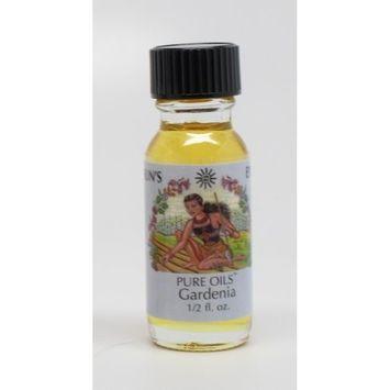 Gardenia - Sun's Eye Pure Oils - 1/2 Ounce Bottle