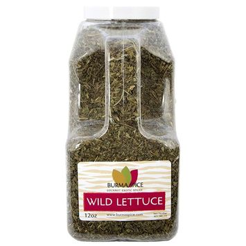 Wild lettuce leaf (100% Kosher Lactuca Virosa) l Natural for pain relief and sleep aid l 10 Ounce l