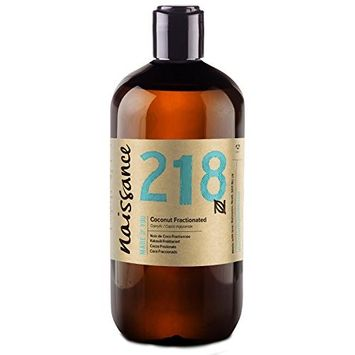 Naissance Fractionated Coconut 16.9 Fl oz. - Pure, Natural, Cruelty Free, Vegan - Moisturizing & Hydrating - Ideal for Aromatherapy, Massage and DIY Beauty Recipes