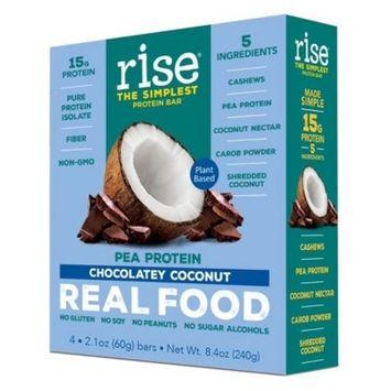 Rise Bar Plant-Protein Bar - Chocolatey Coconut - 4ct