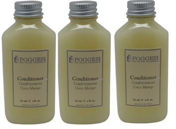 Poggesi Coco Mango Conditioner Lot of 2oz Bottles. Total of 6oz (Pack of 3)