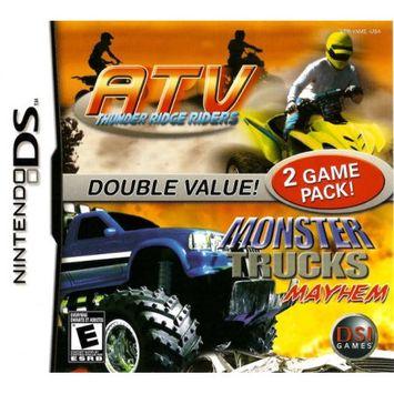 Destination Software ATV: Thunder Ridge Riders / Monster Trucks Mayhem - PRE-OWNED - Nintendo DS