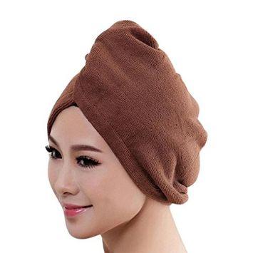Lanhui Woman Bath Towel Hair Dry Hat Cap Quick Drying Bath Tool Microfiber