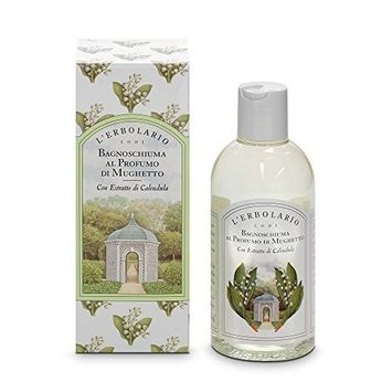 Mughetto (Lily of the Valley) Bath and Shower Foam by L'Erbolario Lodi