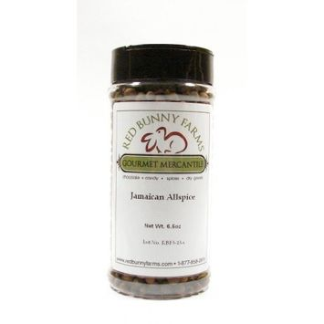 Whole Jamaican Allspice-Large 16 FL Oz Spice Jar with Dual Access Easy Flip Shaker Lid